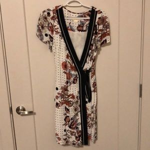 Anthropology flower dress